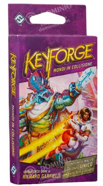 Keyforge Mondi in Collisione
