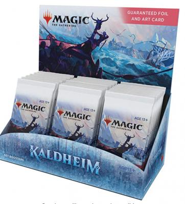 Magic The Gathering Kaldheim Set Booster Box