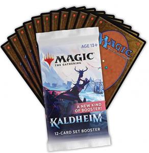 Magic The Gathering Kaldheim Set Booster