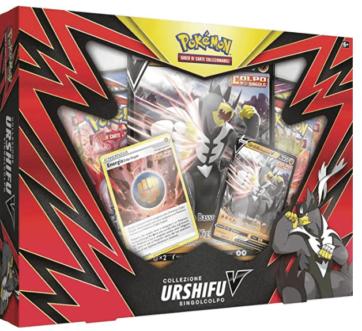Pokemon Collezione Urshifu V Singolcolpo