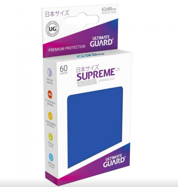 Ultimate Guard Supreme UX Sleeves Japanese Size Blue