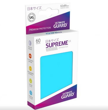 Ultimate Guard Supreme UX Sleeves Japanese Size Light Blue