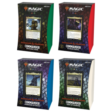 Magic The Gathering Adventures in the Forgotten Realms commander