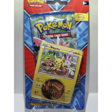 XY-Breakpoint Blister Pack Pikachu