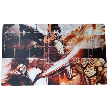 Attack On Titans Playmat