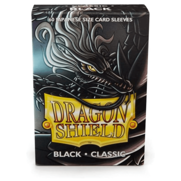 Dragon Shield Japanese Size Classic Black