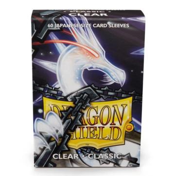 Dragon Shield Japanese Size Classic Clear