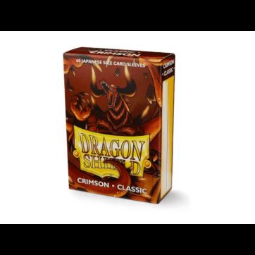 Dragon Shield Japanese Size Classic Crimson