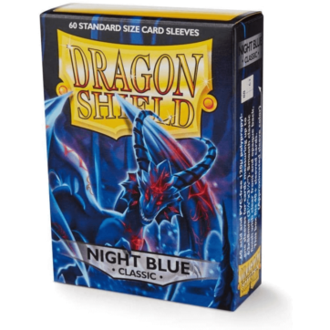 Dragon Shield Japanese Size Classic Night Blue
