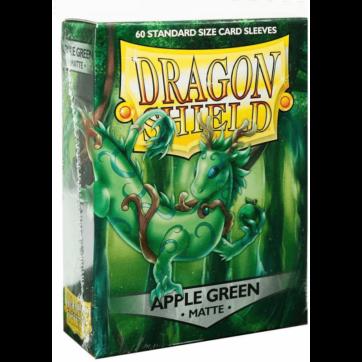 Dragon Shield Japanese Size Matte Apple Green