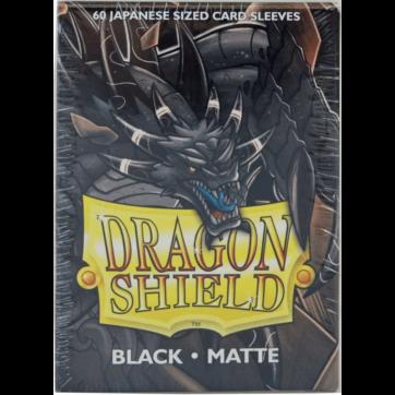 Dragon Shield Japanese Size Matte Black