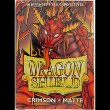 Dragon Shield Japanese Size Matte Crimson