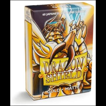 Dragon Shield Japanese Size Matte Gold