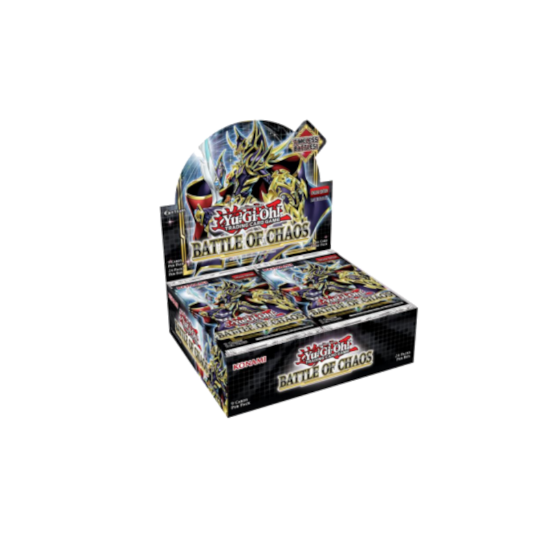 Yu-gi-oh Battle of chaos box